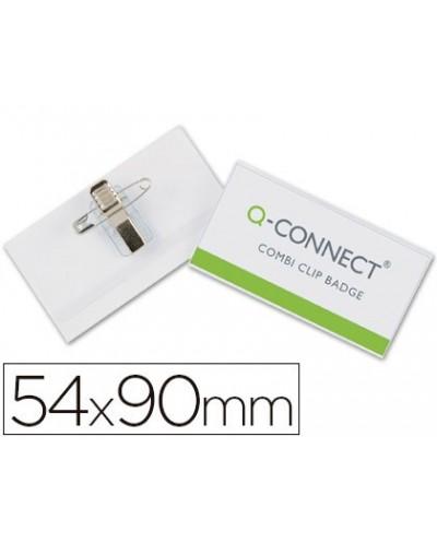 Identificador q connect con pinza e imperdible kf17458 54x90 mm