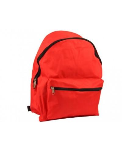 Cartera escolar liderpapel mochila roja 400x300x170 mm