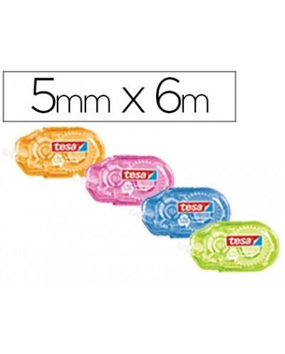 Banderitas separadoras rigidas con pestana 857x698mm blister con 10 unidades color rosa