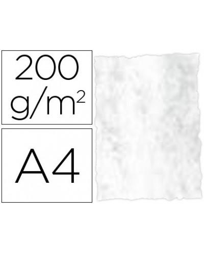 Papel pergamino din a4 troquelado 200 gr color marmoleado gris paquete de 25 hojas