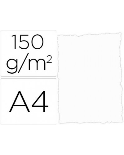 Papel pergamino din a4 troquelado 150 gr color parchment blanco paquete de 25 hojas