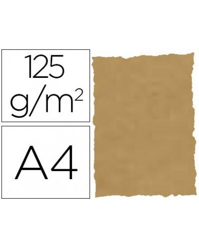 Papel pergamino din a4 troquelado 125 gr piel elefante color pergamino paquete de 25 hojas