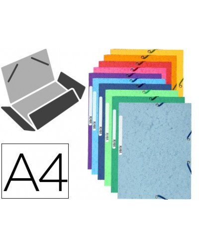 Expositor fast paperflow de pared con 5 compartimentos din a4