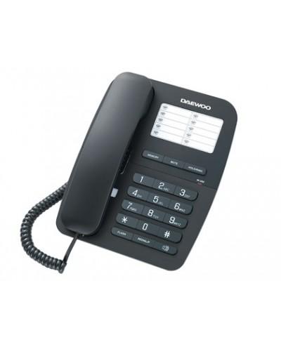 Telefono daewoo dtc 240 manos libres rellamada ultimo numero transferencia de llamadas color negro