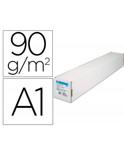 Papel especial hp ink jet blanco intenso din a1 457m x 594 mm 90 g
