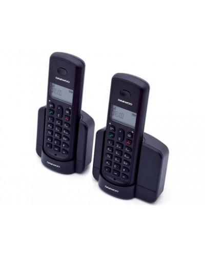Telefono daewoo inalambrico dtd 1350d duo pantalla retroiluminada identificacion de llamadas