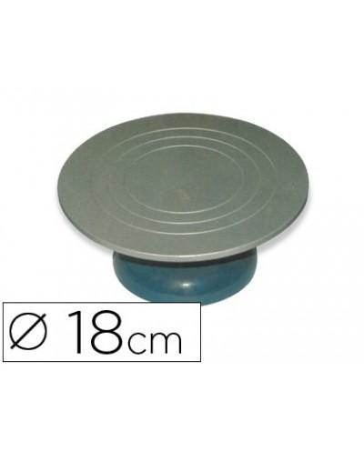 Torneta de escultor sio 2 metalica 18 cm base goma antideslizante