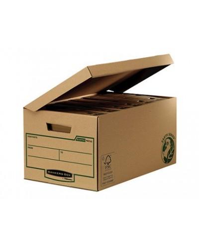 Cajon fellowes carton reciclado para almacenamiento de archivadores capacidad 6 cajas de archivo 80 mm