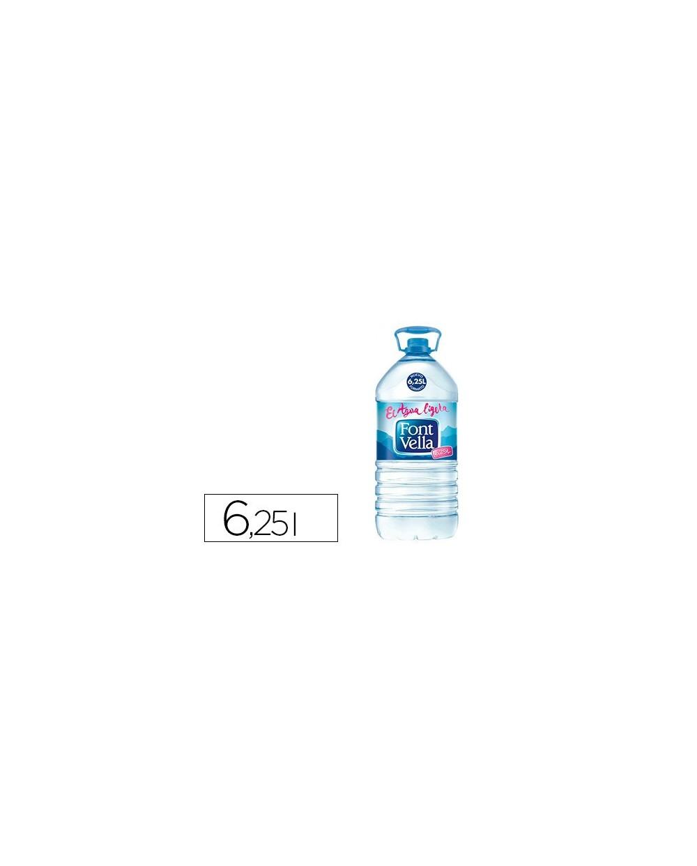 Agua mineral natural font vella sant hilari 625 l