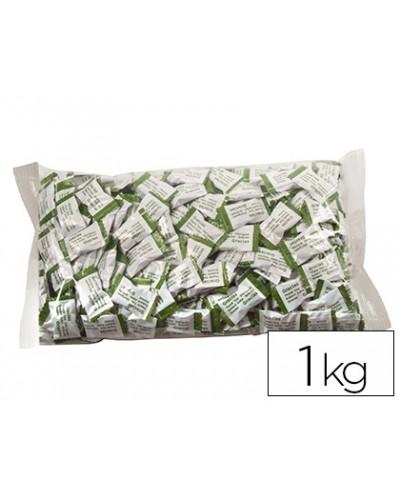 Caramelos de cortesia sabores manzana fresa y cola bolsa de 1 kg