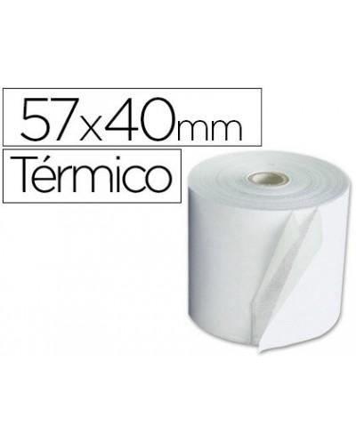 Rollo termico 57x40x11mm 58 grs bisfenol a