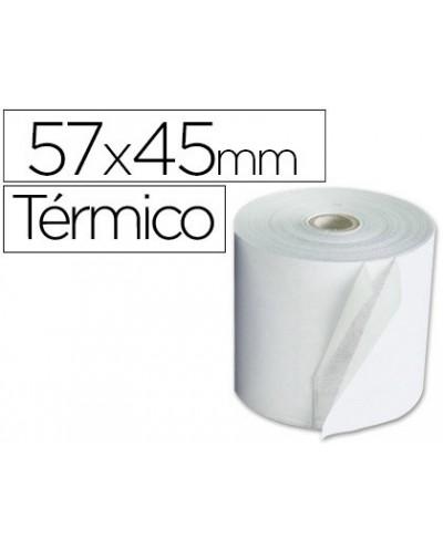 Rollo termico 57x45x11mm 58 grs bisfenol a
