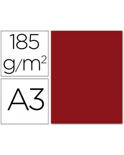 Subcarpeta liderpapel folio rojo intenso 180g m2