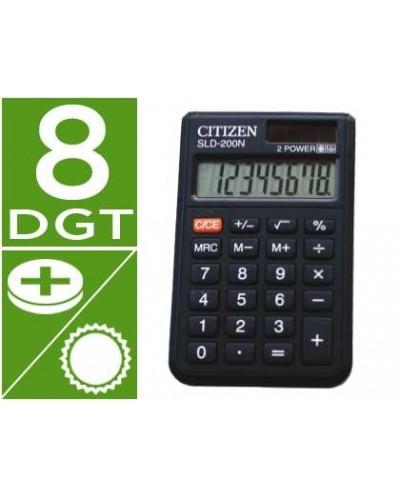 Calculadora citizen bolsillo sld 200n 8 digitos