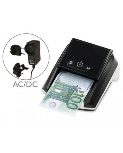 Detector y contador q connect de billete falsos con cargador electrico puerto usb actualizacion de divisas