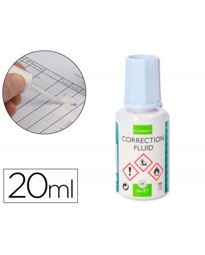 Corrector q connect aplicador pincel frasco 20 ml