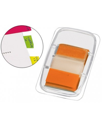 Banderitas separadoras q connect naranjas dispensadorde 50