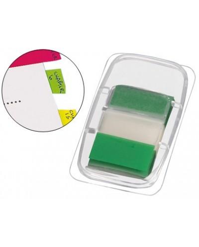 Banderitas separadoras q connect verdes dispensador de 50