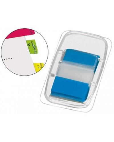 Banderitas separadoras q connect azules dispensador de 50