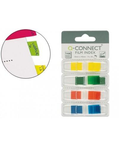 Banderitas separadoras q connect dispensador 4 colores 36 hojas por color