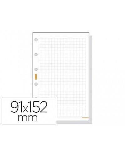 Recambio agenda finocam 400 cuadricula 91x152mm