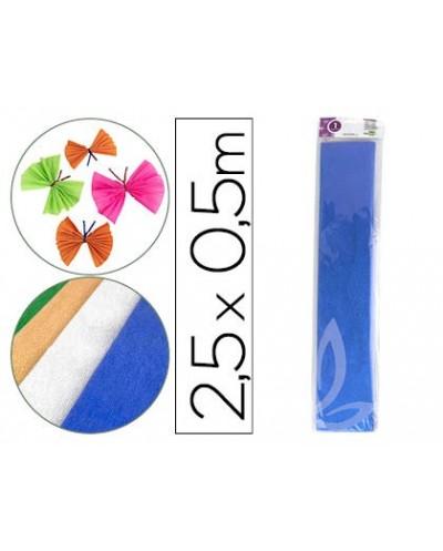 Lapices cera manley unicolor azul celeste caja de 12 n17