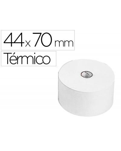 Rollo sumadora termico q connect 44 mm ancho x 70 mm diametro sin bisfenol a