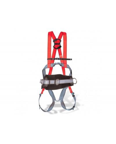 Arnes anticaidas faru dorsal y esternal con enganche y cinturon cincha 45 mm