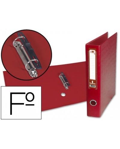 Carpeta dossier unero plastico pardo folio transparente