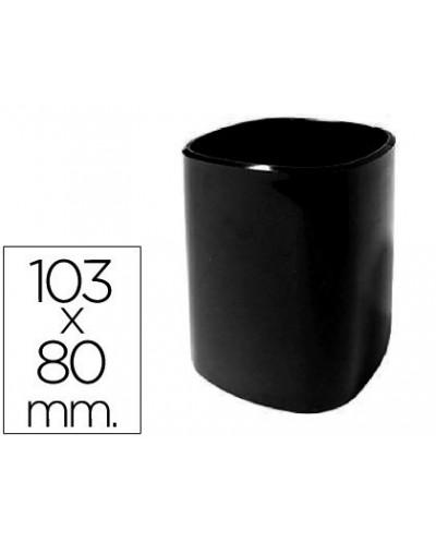 Cubilete portalapices 102 n plastico negro 103x80 mm