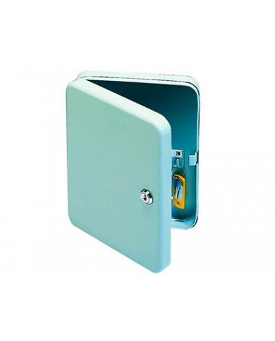 Armario para llaves q connect 20 llaves chapa de acero ceradura de seguridad tornillos soporte mural