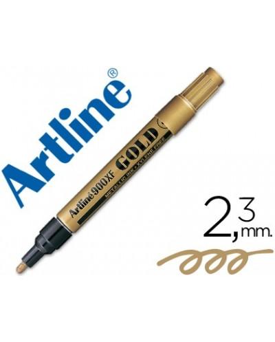 Rotulador artline marcador permanente tinta metalica ek 900 oro punta redonda 23 mm