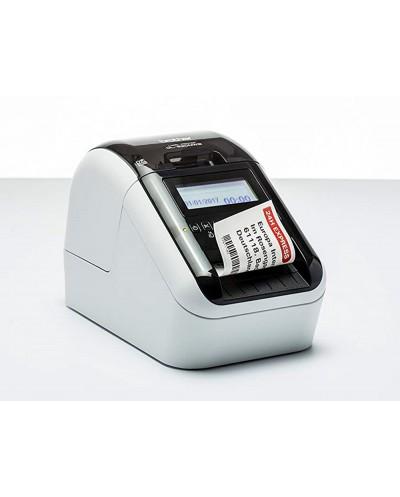Impresora brother de etiquetas ql820nwb hasta 62 mm impresion 110 etiquetas minuto impresion