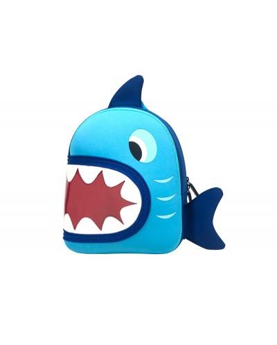 Cartera escolar liderpapel mochila infantil tiburon 280x210x105 mm