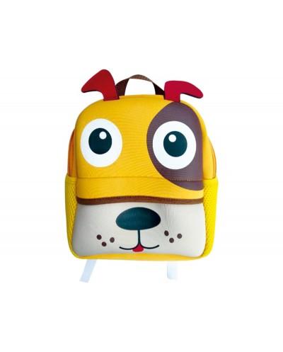 Cartera escolar liderpapel mochila infantil perro 300x240x100 mm
