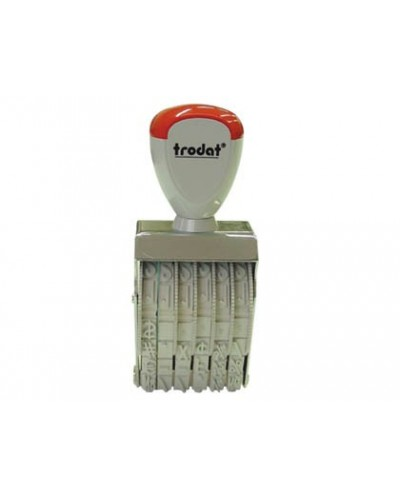 Numerador trodat 1556 de 5 mm bandas