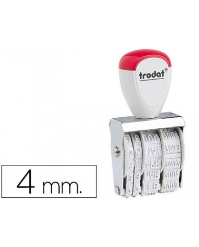 Fechador trodat 1010 de 4 mm