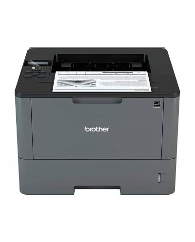 Impresora brother hll5100dn laser monocromo 40 ppm duplex a4 bandeja 250 h color negro