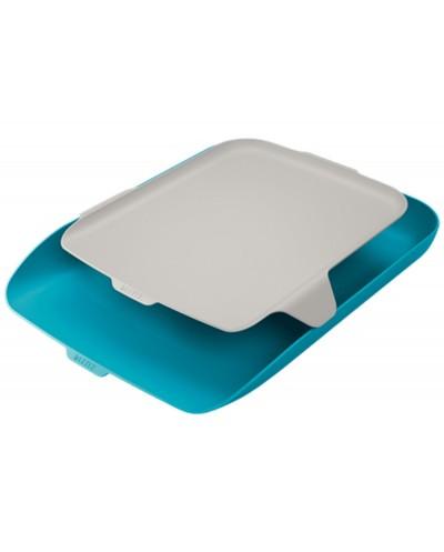 Bandeja organizadora plastico leitz cosy azul