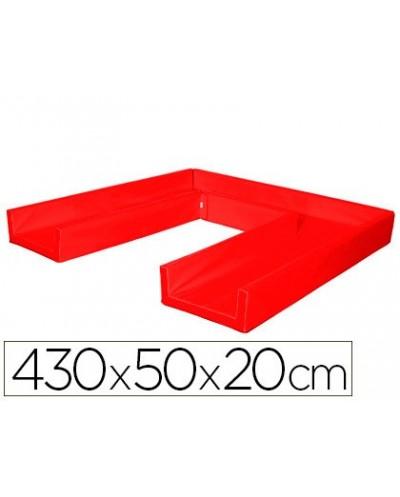 Circuito modular de gateo sumo didactic 430x50x20 cm rojo