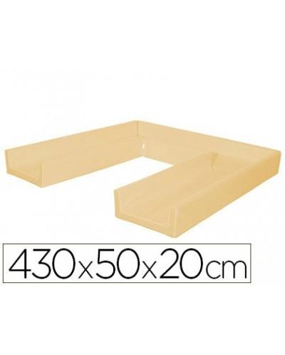 Circuito modular de gateo sumo didactic 430x50x20 cm marfil