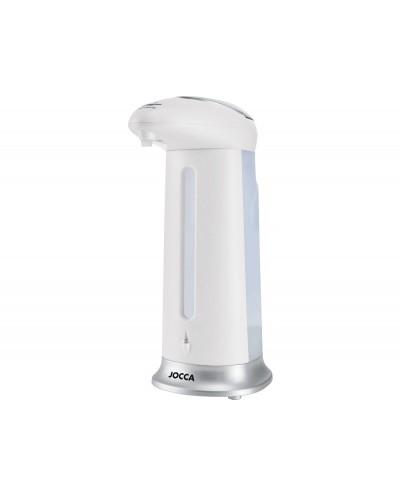 Dispensador automatico jabon gel jocca con indicador led capacidad 280 ml 83x125x200 mm