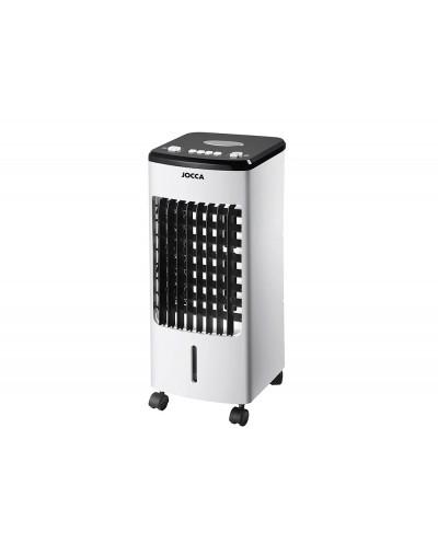 Climatizador humidificador frio jocca 3 velocidades y 3 modos auto ajuste aspas deposito 3 l 600x260x280 mm
