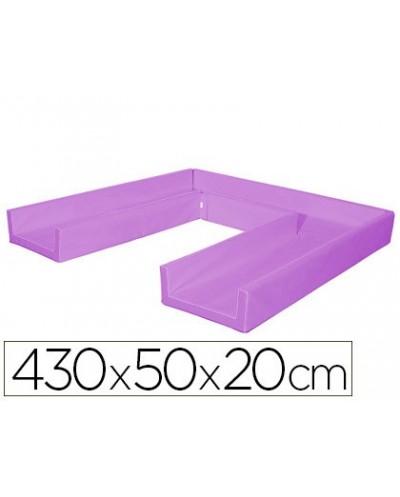 Pantalla de proteccion de techo para mostrador metacrilato ventana 300 x 150 mm medidas 750 x 850 mm