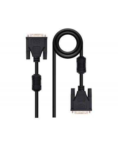 Cable dvi nanocable dual link 241 m m color negro longitud 18 m