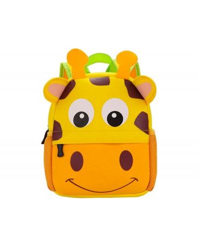 Cartera escolar liderpapel mochila infantil neopreno jirafa
