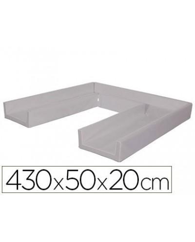 Circuito modular de gateo sumo didactic 430x50x20 cm gris