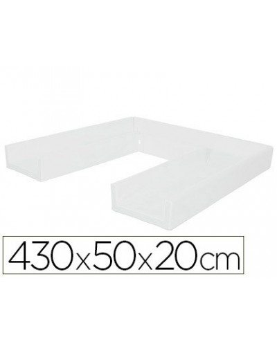 Circuito modular de gateo sumo didactic 430x50x20 cm blanco
