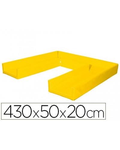 Circuito modular de gateo sumo didactic 430x50x20 cm amarillo