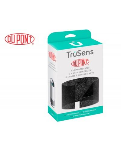 Filtro de carbono leitz dupont para purificador de aire trusens z 2000 pack de 3 unidades
